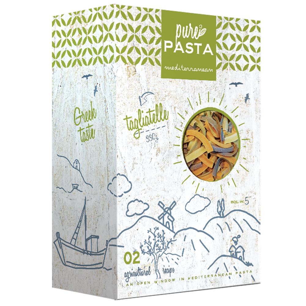 Tagliatelle Mediterranean tastes - Mystilli greek products