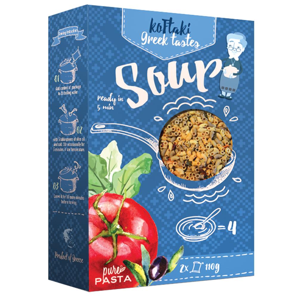 Ditalini Greek tastes  special soup - Mystilli greek products