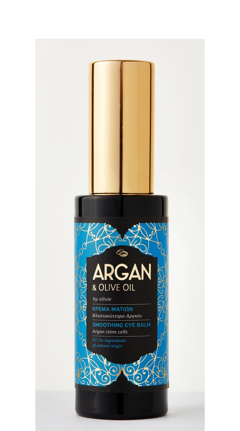 Κρέμα μπαλμ ματιών Αργκάν με Οργανικό ελαιόλαδο, 30ml - Mystilli greek products