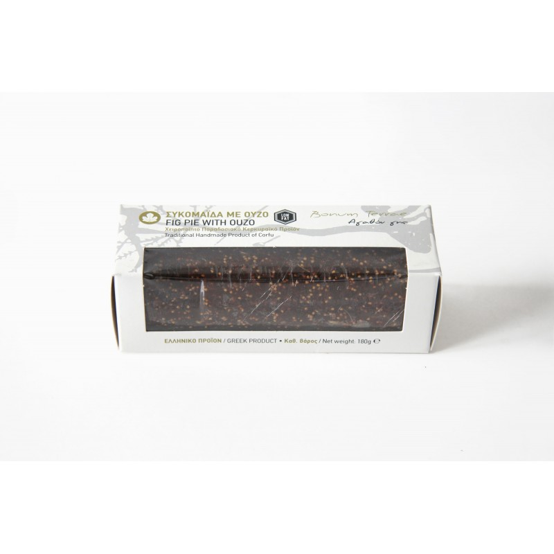 Fig Pie with Ouzo, 180g - Mystilli greek products