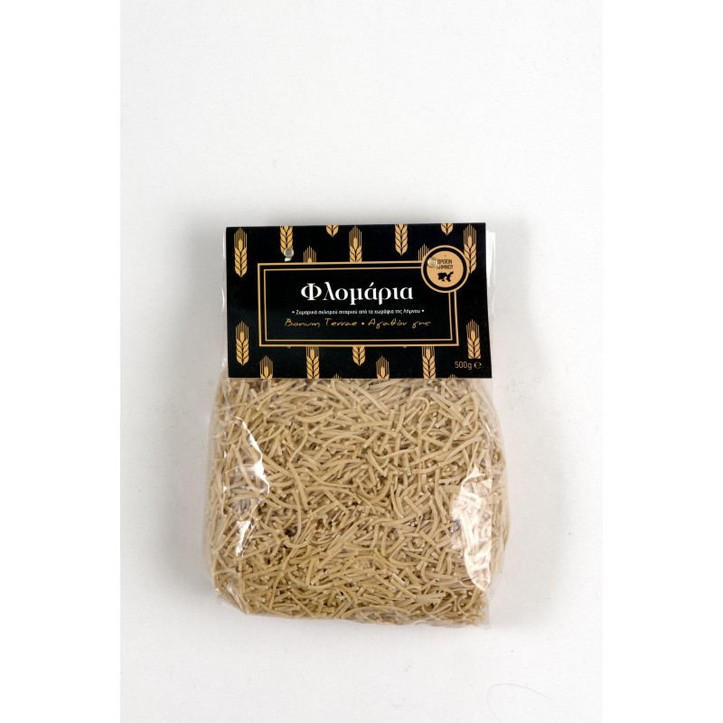 Flomaria Traditional Pasta from Lemnos Island, 500g - Mystilli greek products
