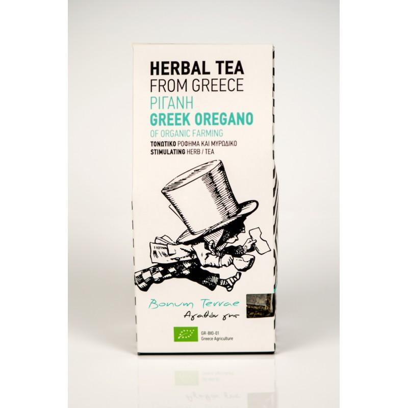 Organic Oregano Spice & Herbal Tea, 30g - Mystilli greek products