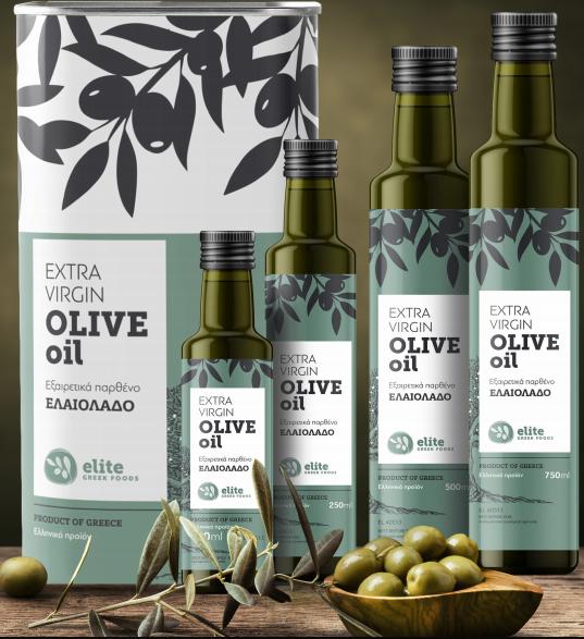Extra Virgin Olive Oil, 500ml - Mystilli greek products