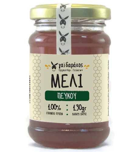 Pine tree honey, 130g - Mystilli greek products