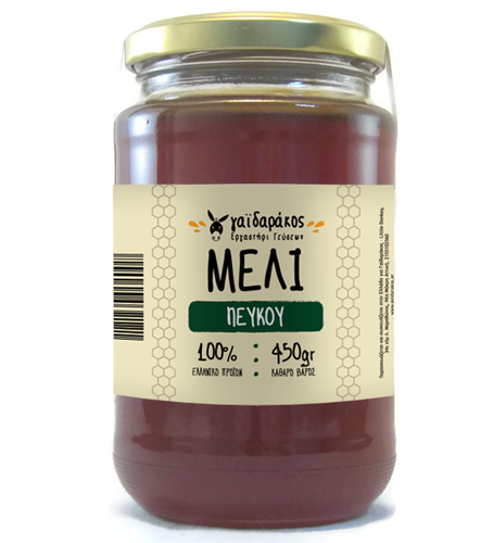 Pine tree honey, 450g - Mystilli greek products