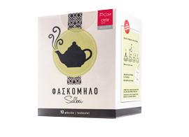 Sage in Tea bags, 10x1.5g - Mystilli greek products