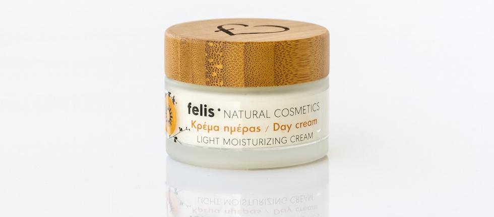 Felis Tagescreme mit  Sonnenschutz, 50ml - Mystilli greek products