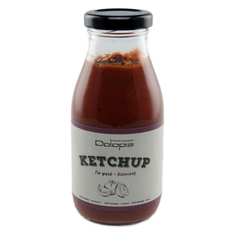 Ketchup Smoked, 280g - Mystilli greek products