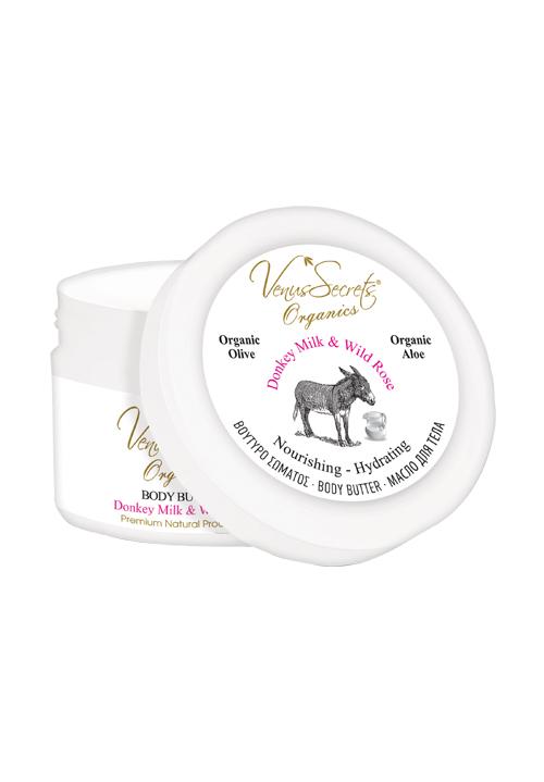 Donkey Milk Body Care with Organic Olive & Wild Rose - Mystilli greek products