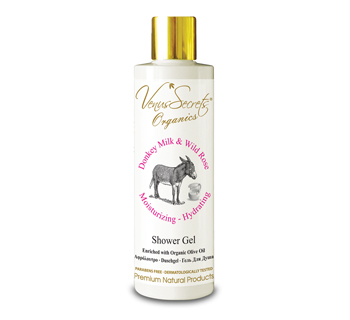 Shower Gel Donkey Milk and Wild Rose